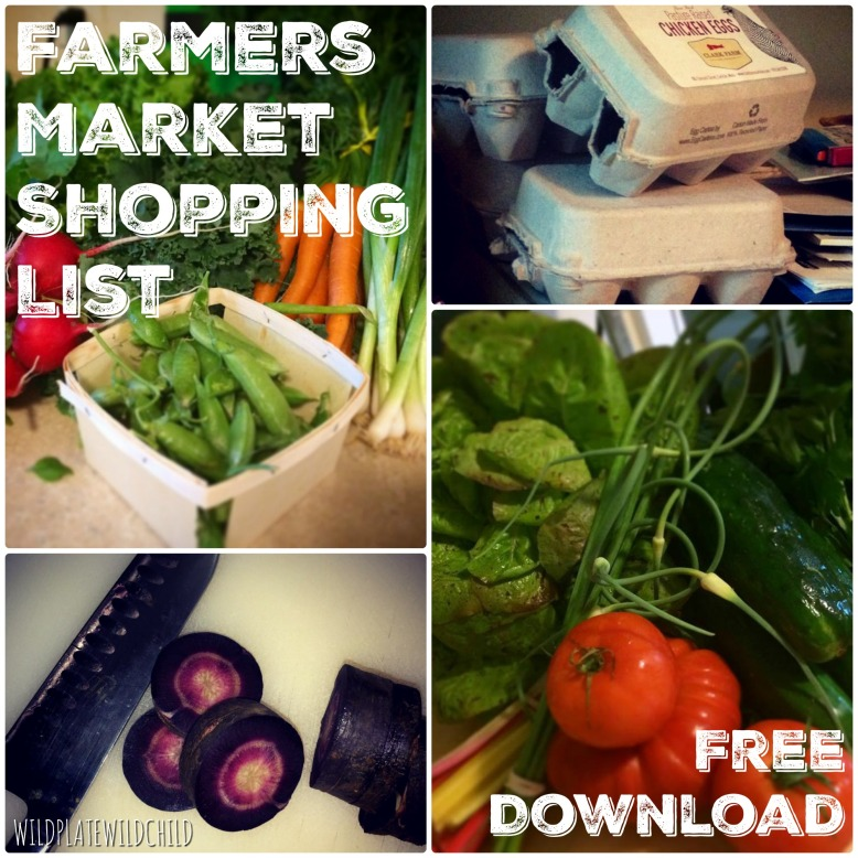 Farmers Market List